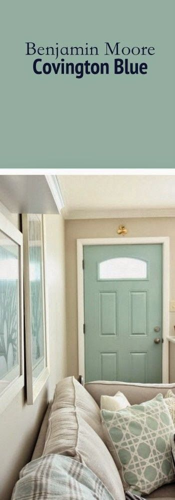 Best DIY Projects: The perfect paint color for your front door.