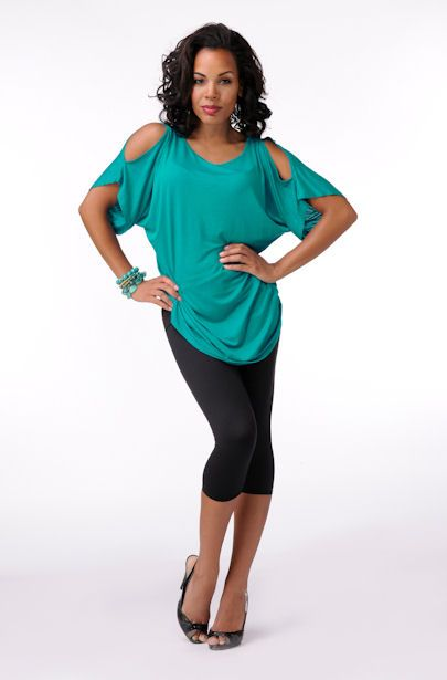 Elegantly Styled Open Sleeve Top/Coverup  Price: $39.99
