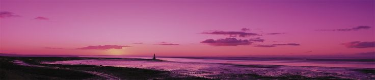 Sunset over Morecambe Bay