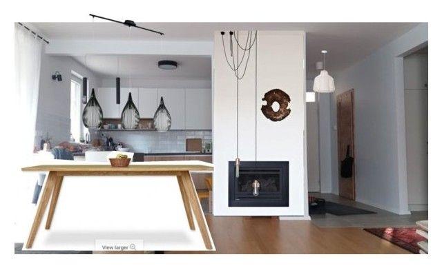 table by sbodi on Polyvore featuring interior, interiors, interior design, home, home decor and interior decorating