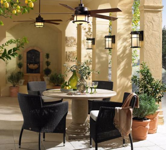 Mediterranean Style Patio: 25+ Best Ideas About Outdoor Ceiling Fans On Pinterest