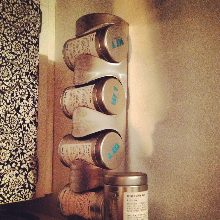 David's Tea storage unit from IKEA Wine Racks! @DAVIDsTEA @Antoni Nadal Bvo Duncan