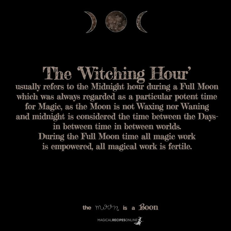 The Magic of the Moon can become yours! Magical Recipes Online