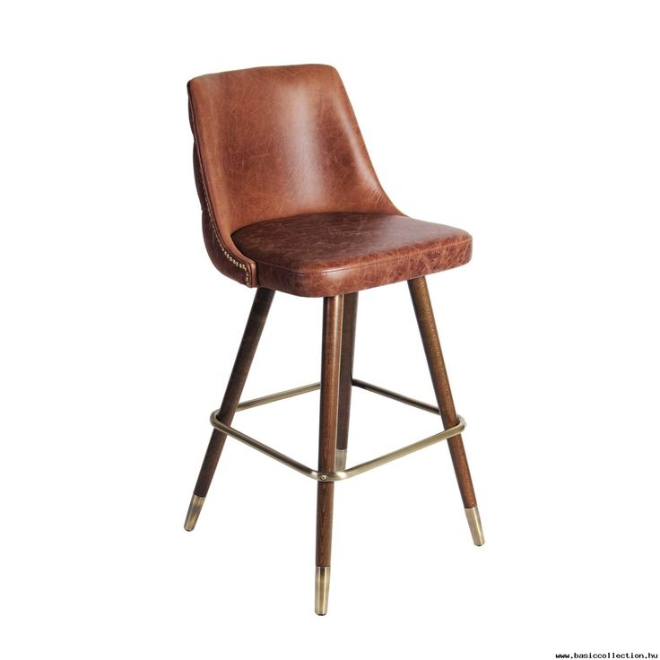 #basiccollection #upholstery #stool #barstool #chair #chairdesign #design #designfurniture #leather #brown #wood