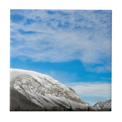 White Mountains New Hampshire Ceramic Tile And