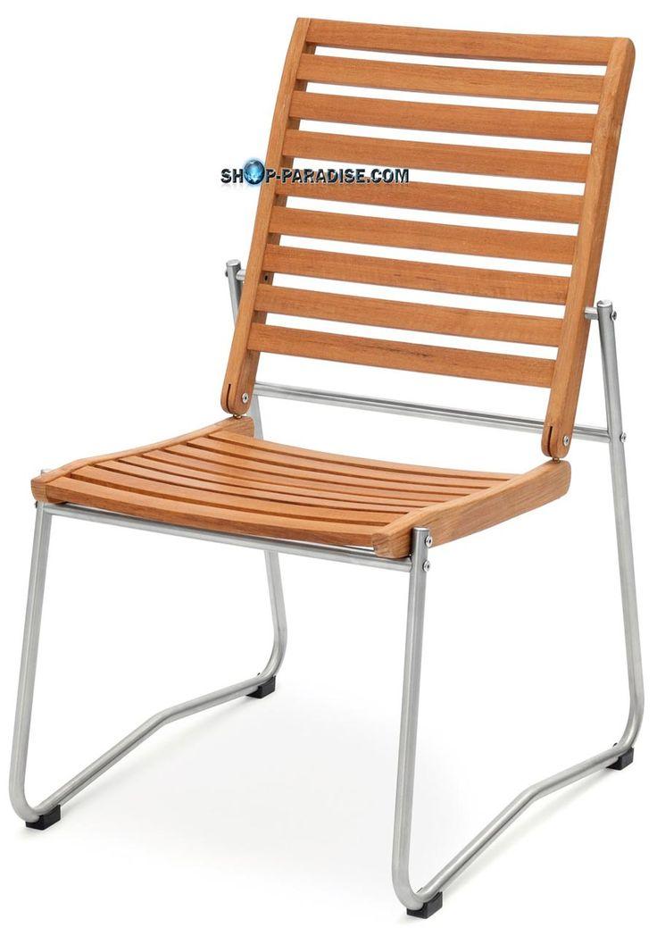 SHOP-PARADISE.COM:  Stuhl aus Teak und Edelstahl Scopula 147,89 €