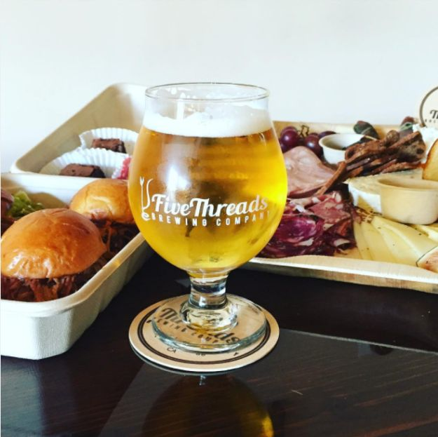 """Five Threads Brewing, Westlake Village, California 