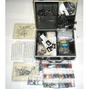 6 Guns Tattoo Kit LCD Digital Power Supply Needles 40 Colors 10ml Inks Brand New K7a --- http://www.pinterest.com.itshot.me/2pg: 40 Colors, Black Colors, Guns Tattoo, Gun Tattoos, Colors 10Ml, 10Ml Ink, Ink Branding, Guns Kits, Tattoo Guns