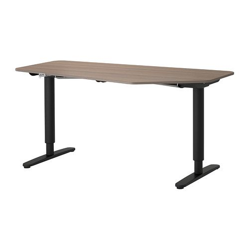 BEKANT 5-sided desk, sit/stand IKEA 10-year Limited Warranty. Read about the terms in the Limited Warranty brochure.