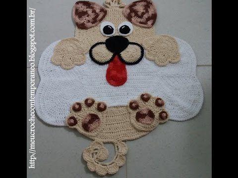 Tapetes Infantis Cachorrinhos Lala e Lulu, parte 4 - BUMBUM E RABINHO