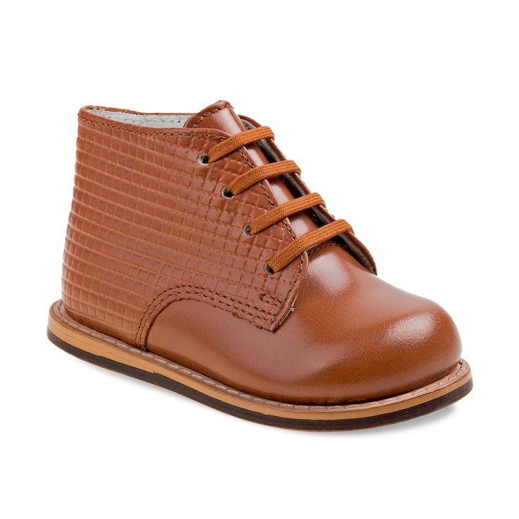 Josmo Toddler Walking Shoes, Kids Unisex, Size: 4.5 T, Beig/Green (Beig/Khaki)