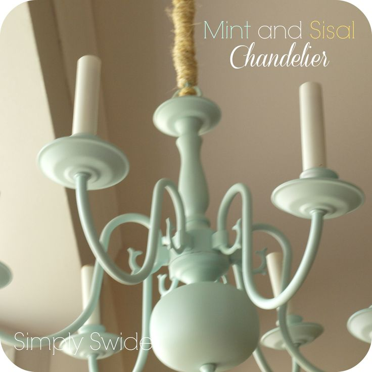 How To Paint A Brass Chandelier