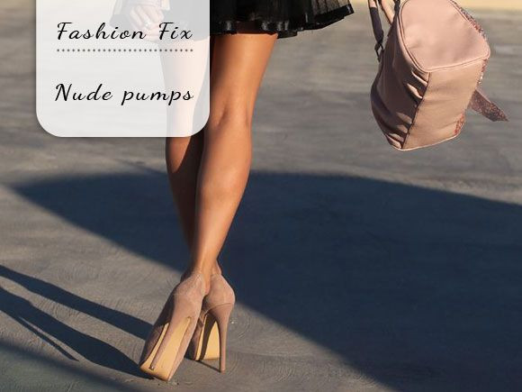 Fashion Fix: nude pumps