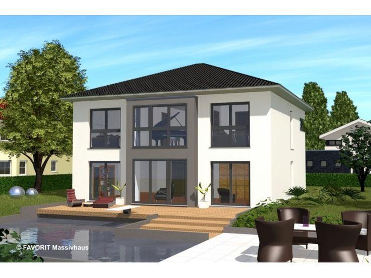 Citylife 178 - #Einfamilienhaus von Bau Braune Inh. Sven Lehner | HausXXL #Massivhaus #Energiesparhaus #Nullenergiehaus #modern #Walmdach