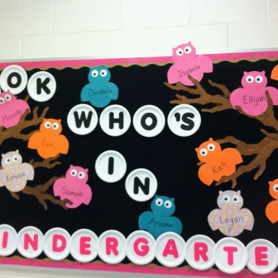 Back to School Bulletin Boards - Long Wait For Isabella