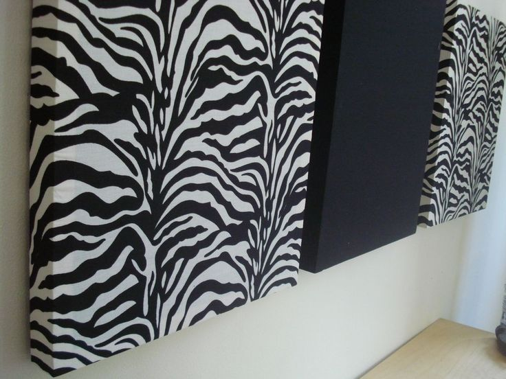 zebra home decor craft ideas - home ideas