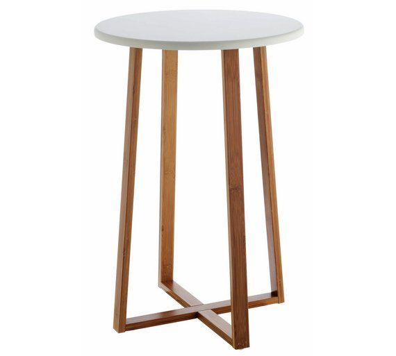 Buy Habitat Drew Tall Side Table - Bamboo at Argos.co.uk, visit Argos.co.uk to shop online for Coffee tables, side tables and nest of tables, Living room furniture, Home and garden