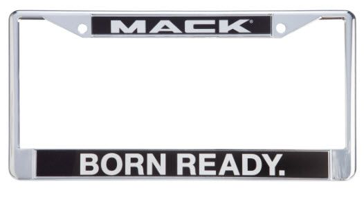 Show details for MACK LICENSE PLATE FRAME