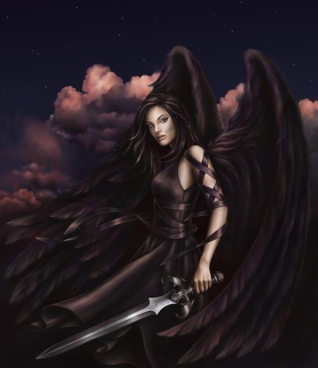 Fallen Angel by LuneDeCreset on DeviantArt