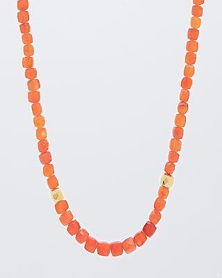 Karneol-Collier  von Sogni d´oro #sognidoro #sogni #doro #Schmuck #Edelsteine #jewelry #gemstones