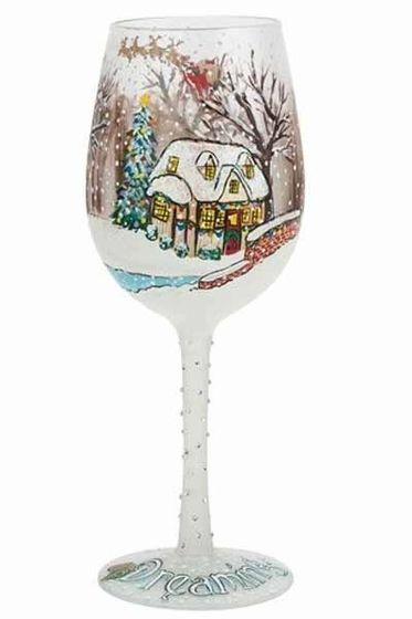 17 best images about lolita hand painted wine glasses on for Christmas painted wine glasses pinterest