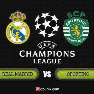 DP BBM Real Madrid vs Sporting