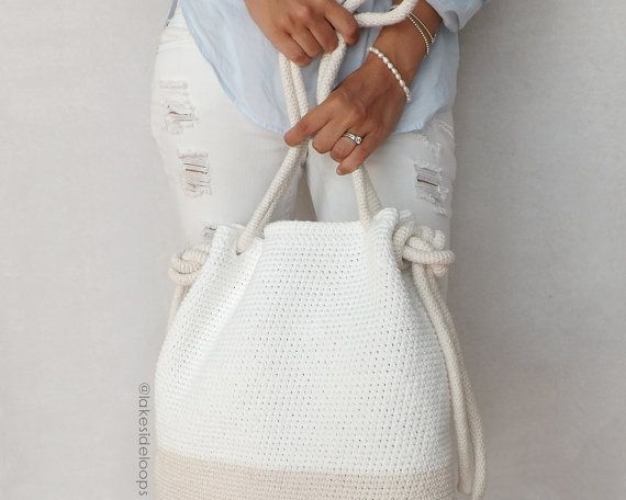 An easy crochet pattern for the perfect summer purse or beach bag . . . complete with crochet rope! This pattern creates two sizes so mother – daughter or grandmother – granddaughter can match on their next shopping adventure or trip to the ocean. SPECIAL DISCOUNTS: Buy 2 patterns get 1 free! <Enter coupon code 1FREE at checkout> Buy 3 patterns get 2 free! <Enter coupon code 2FREE at checkout> Buy 4 patterns get 3 free! <Enter coupon code 3FREE at checkout> Buy 5 patterns ge...