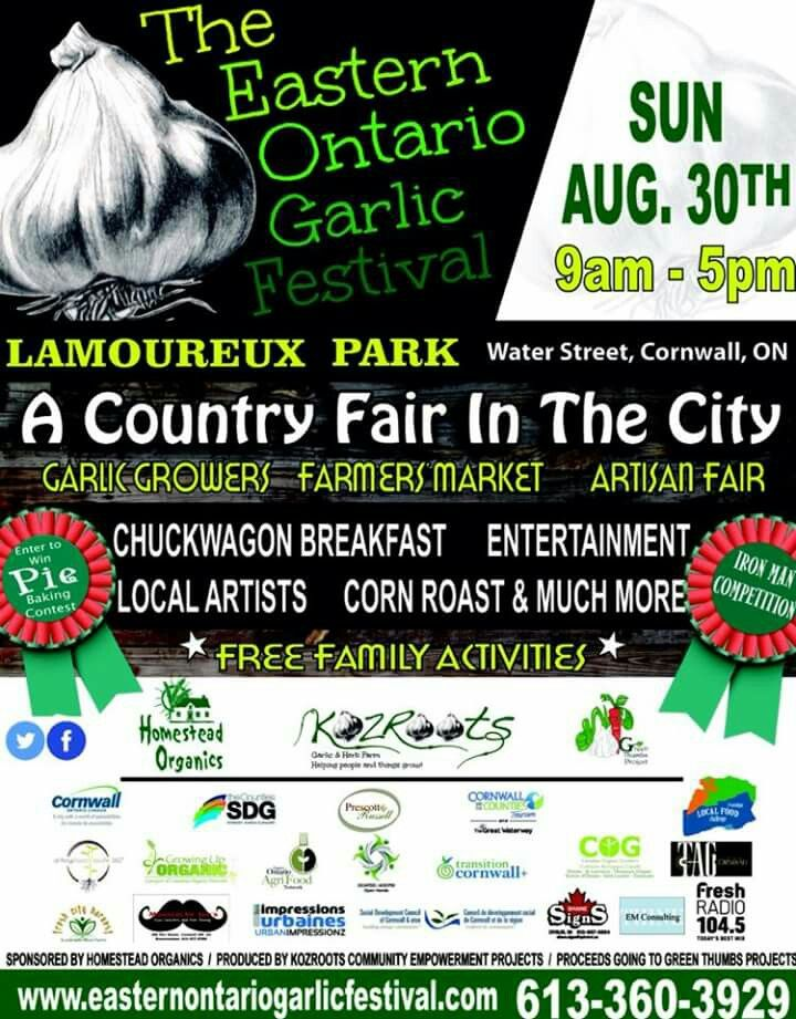 The Garlic Festival. This coming Sunday, I am so excited.