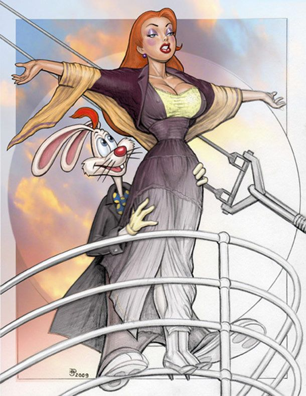 I think they should remake the Titanic only this time have the entire movie done with Who Framed Rodger Rabbit characters. I would watch it over and over again.