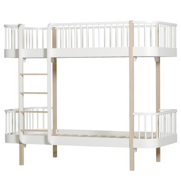 Oliver Furniture - Wood Bunk Bed in Oak