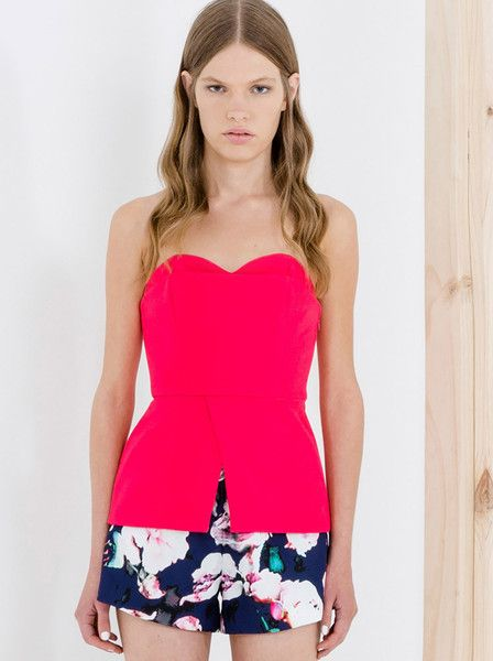 Finders Keepers - The Label - Ready To Go Short - Digital Floral - Patriot Blue $139.90