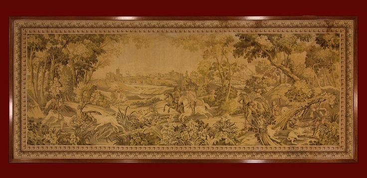 TAPESTRY ANTIQUE GOBELINS	cm 178 x 433	ft 5'9 x 14'3   Cod:: 140732061367