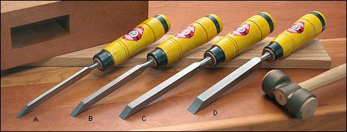 Hirsch Mortise Chisels, heavy duty
