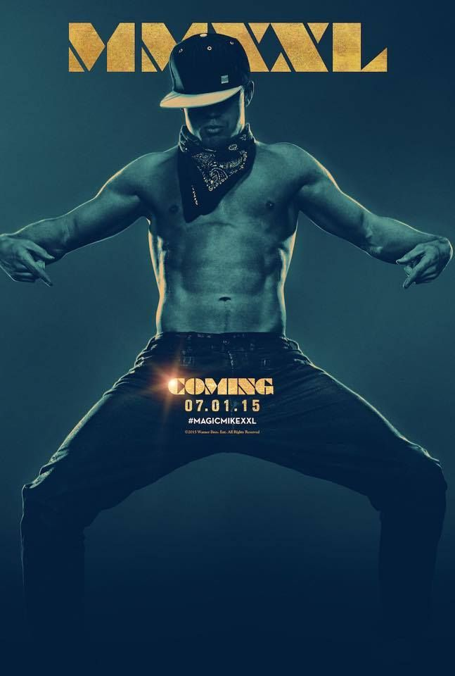 Look, but you can't touch...until tomorrow. Tune in to The Ellen DeGeneres Show! #MagicMikeXXL