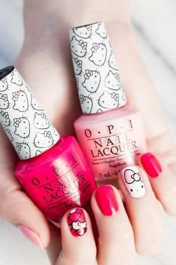 The Hello Kitty by OPI Collection Is Here, and It's Every Bit as Adorable as You'd Think