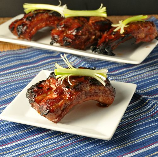 Chinese Barbecued Spareribs ~ Just in time for Chinese New Years or the perfect Superbowl snack!