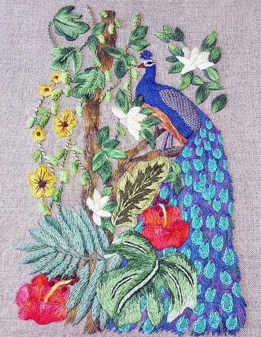 1054 Best Embroidery Images On Pinterest