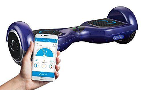 SmartGyroX2 Patinete eléctrico con batería Samsung y certificado UL2272 color azul talla 6.5