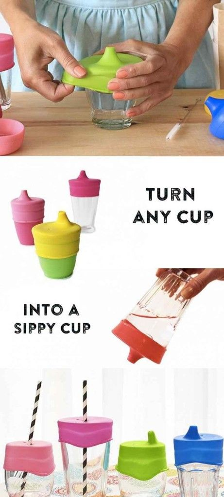 Silskin sippy tops to make sippy glass