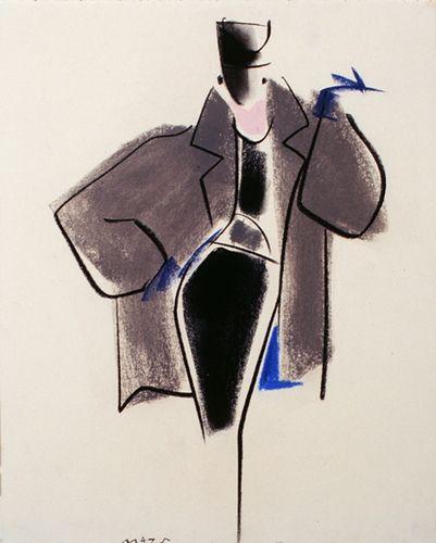 Fashion Illustration by Mats Gustafson (Swedish, 1951) | Flickr - Photo Sharing!
