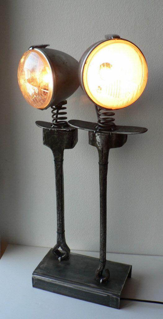 lampe sculpture toi et moi