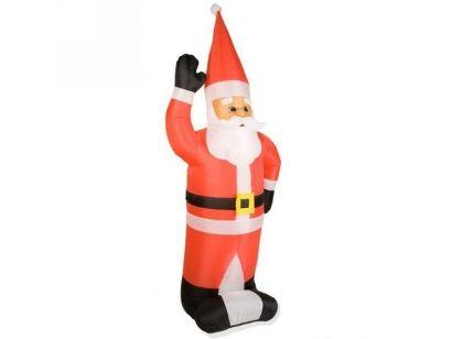 Mikołaj dmuchany sprawdzi się świetnie jako ozdoba świąteczna dla domu, ogrodu lub balkonu. Więcej na http://tetex.pl/oferta.php?item_id=4e445931