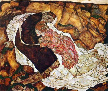 La Muerte Y La Doncella Egon Schiele 1915 Egon