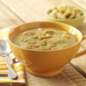 Split Pea Soup from Taste of Home #slow_cooker #crockpot