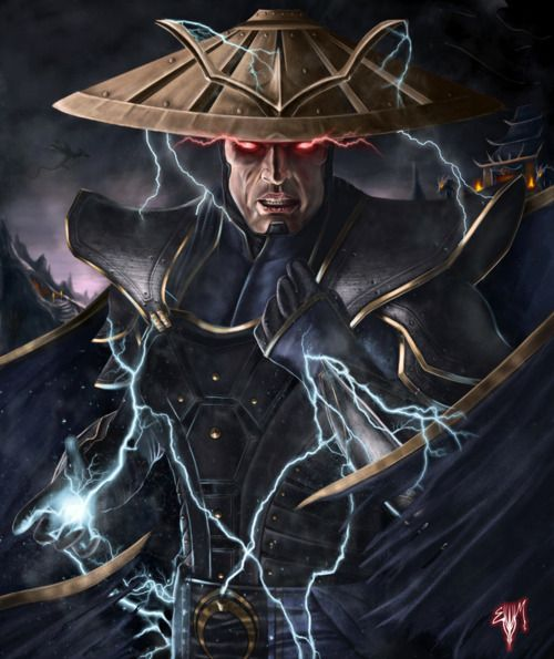 MK Legacy Thunder God | Illustrator: Esau Murga