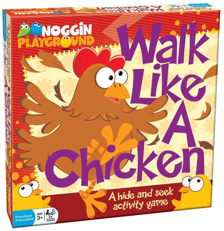 Walk Like A Chiken GAME, 17801, Ages 3+ #CobbleHill