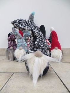 Scandinavian Christmas Gnomes From Socks
