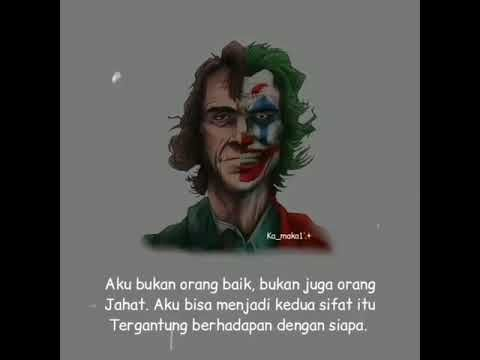 Kata Kata Mutiara Joker Youtube Ketahui Makna Kutipan Film Joker