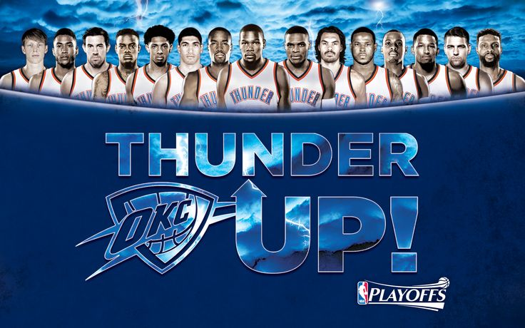 Thunder Playoffs Wallpapers | Oklahoma City Thunder