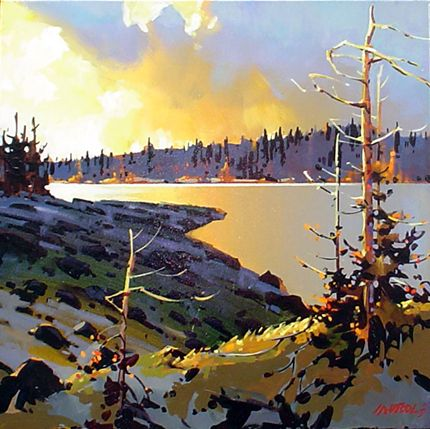 The Art of Michael O'Toole: Evening at River's Inlet